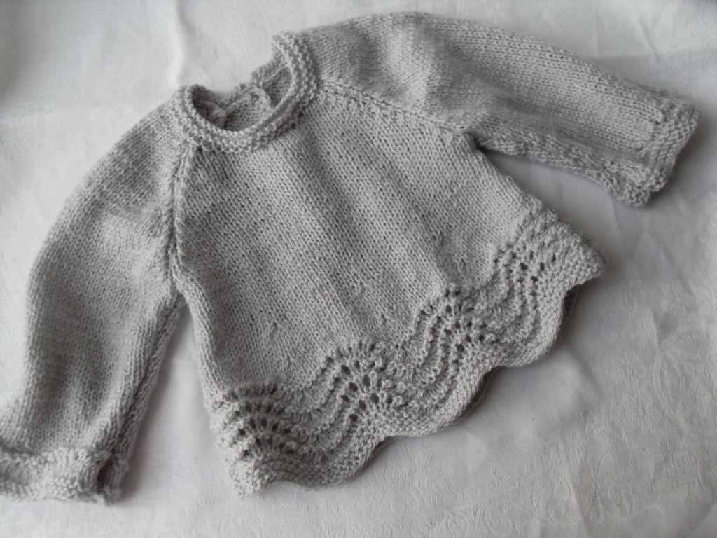 e5e605b603793 modèle brassiere bébé au tricot