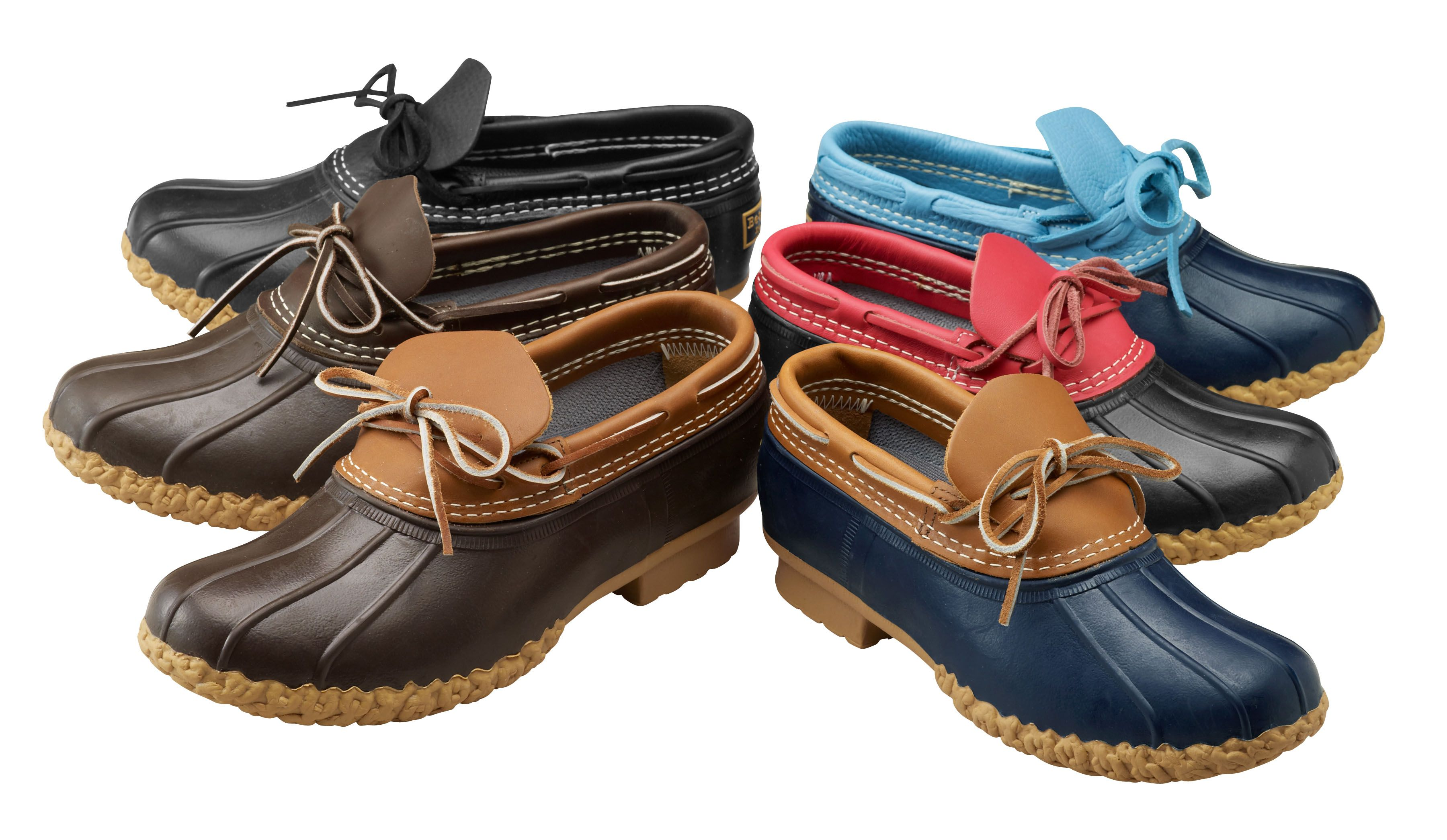 L.L.Bean Bean Boot Rubber Mocs - a spring neccessity made in Maine - USA