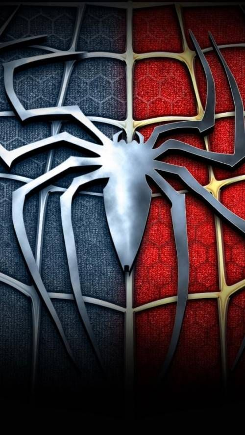 Spiderman Logo App WallpaperSpider VerseSuperhero LogosMarvel Comics SuperheroesAmazing SpidermanSuper