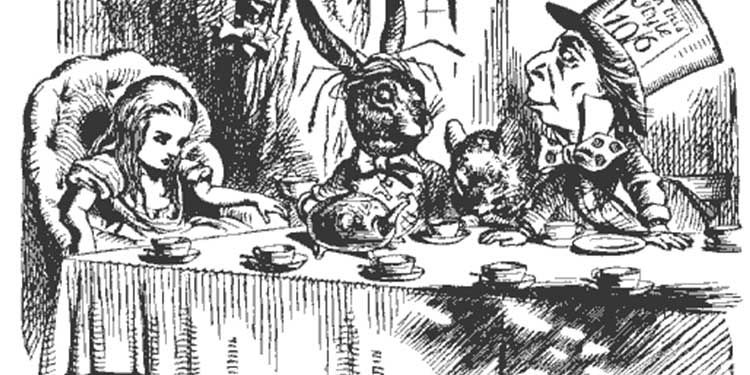 4 luglio 1865 Viene pubblicato ''Alice nel Paese delle Meraviglie''