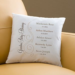 Personalised Jack Any Name Funny Typography Cushion Pillow Perfect Gift
