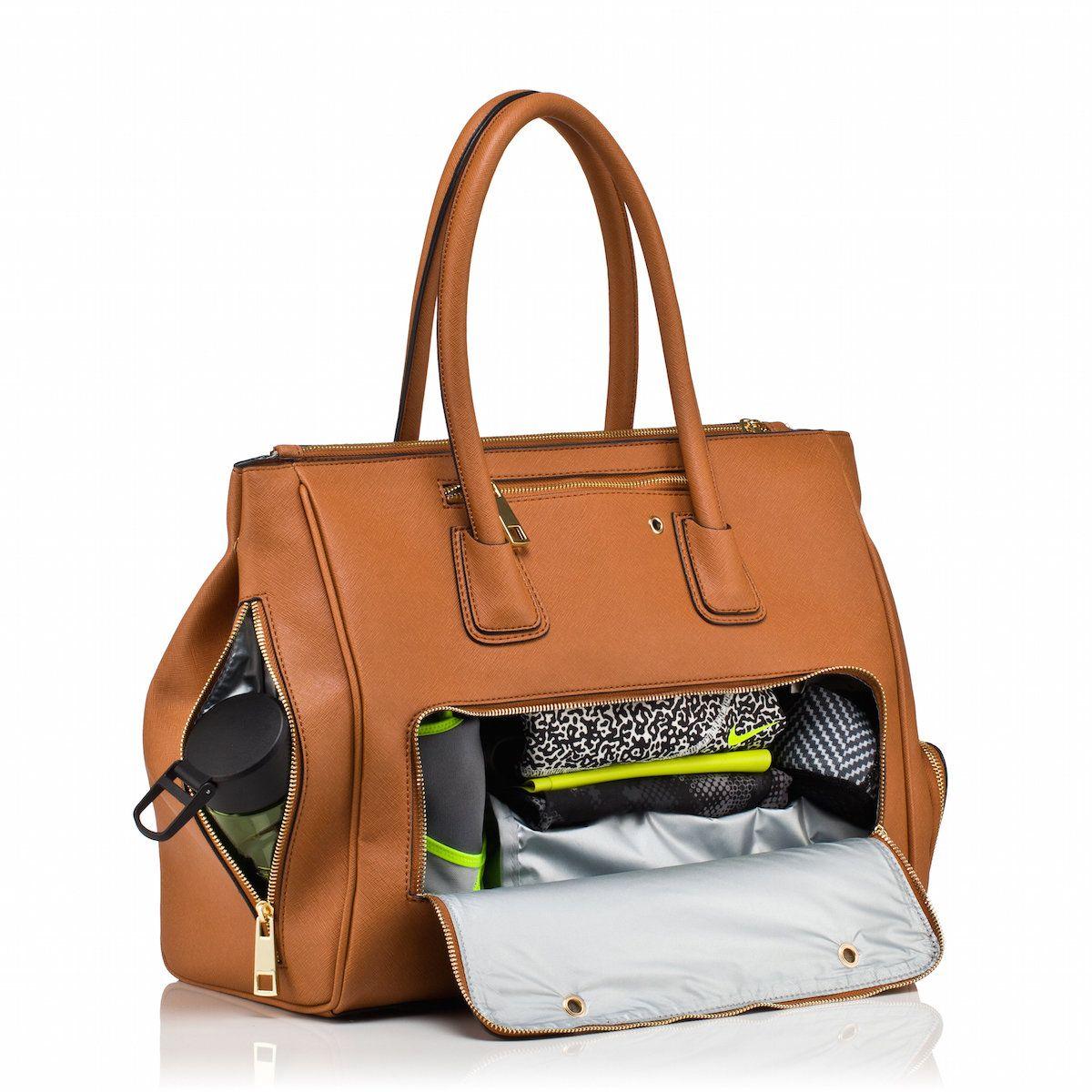 Handbag Gym Tote Sophia Tan Saffiano