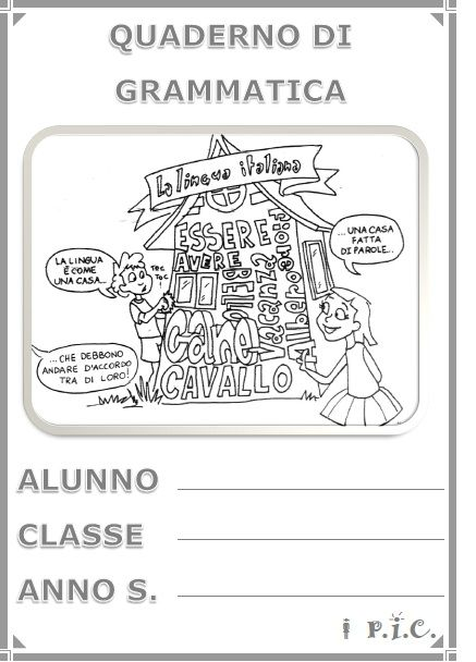 Copertina Grammatica Riflessione Linguistica