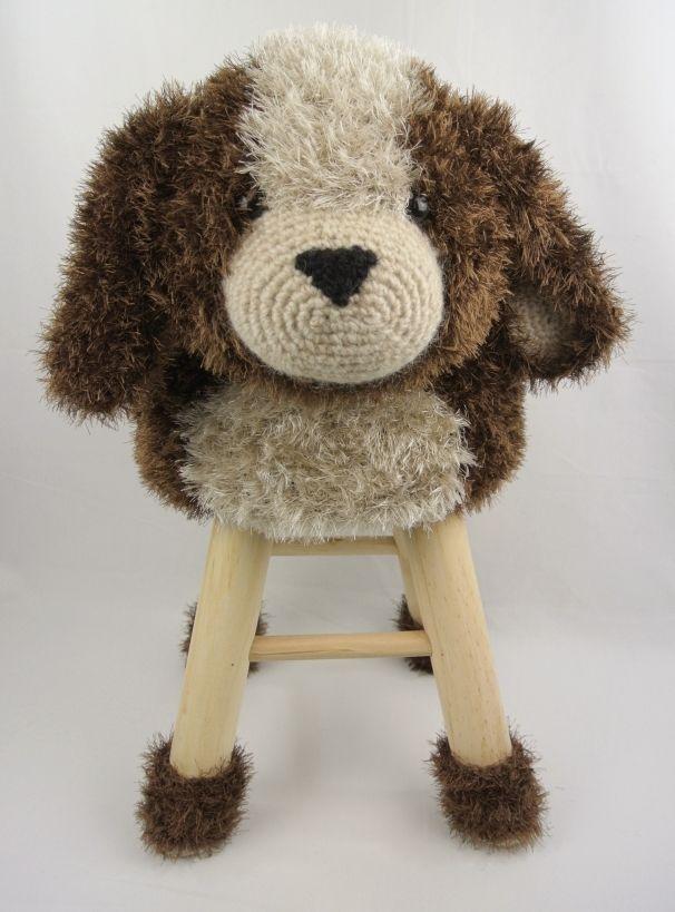 Dieren Kruk Hond Haakpret Haken Pinterest Crochet Crochet