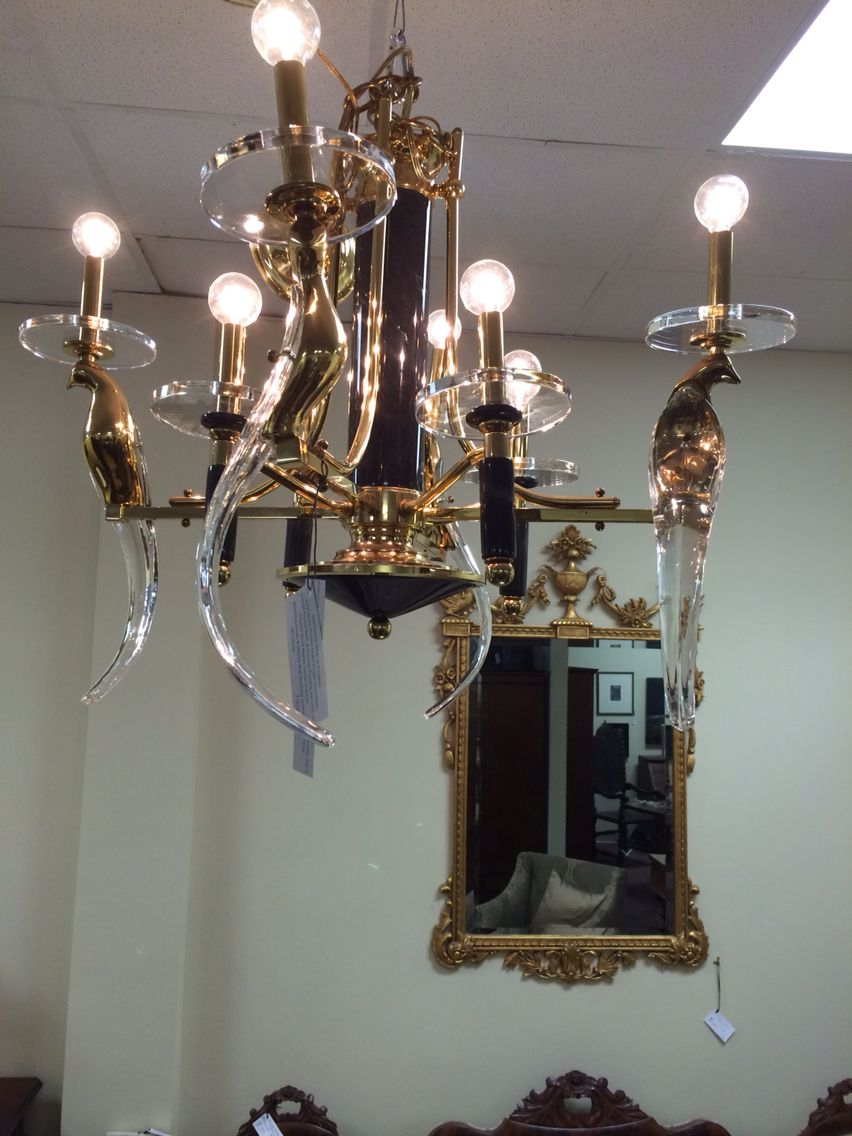 Nulco birds of paradise triple tiered chandelier project1 richmond va