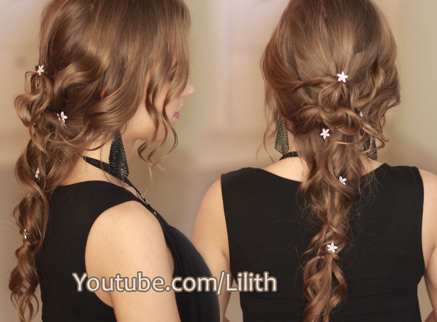 Glamorous Down Do Tutorial For Long Hair Christmas New Year S Eve Hairstyle Http Www Youtube Com Wa Curls For Long Hair Long Hair Styles Long Hair Tutorial
