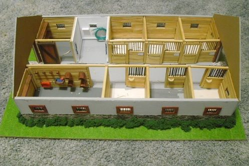 Image gallery breyer barns for How to build horse barn