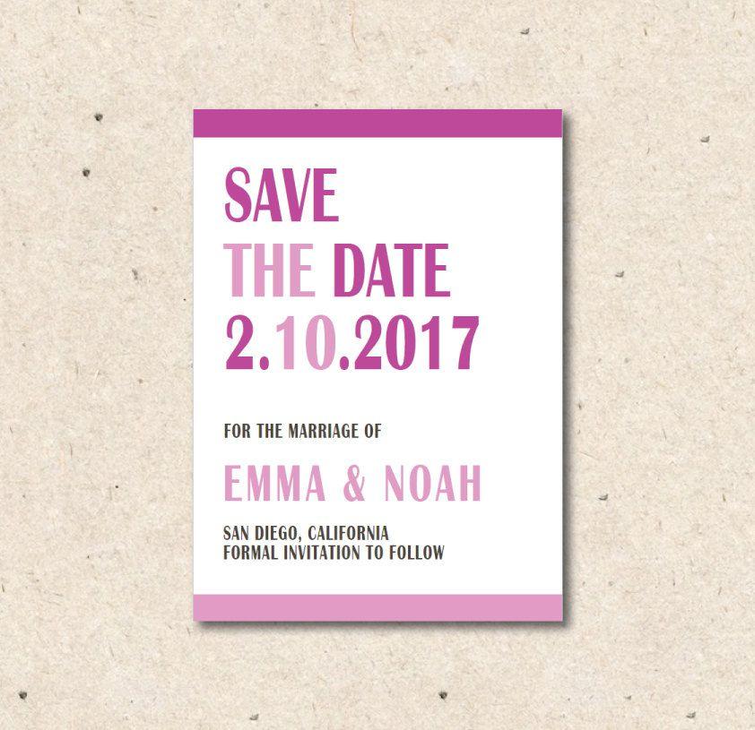postcard announcement templates
