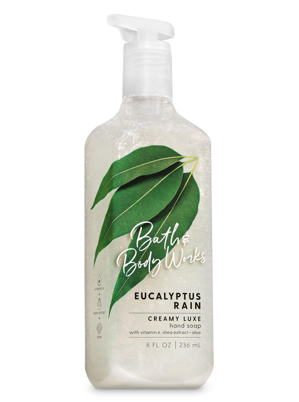 Eucalyptus Rain Creamy Luxe Hand Soap By Bath Body Works Hand