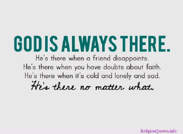 50 God Is Always There Quotes Paulcong