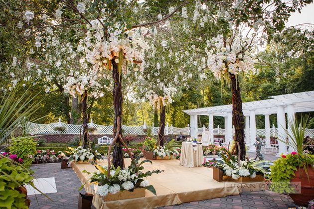 A Garden Wedding At Shadowbrook In Shrewsbury Nj