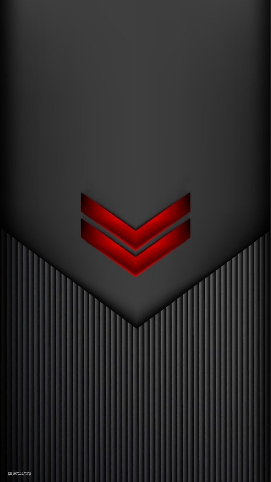 Red On Black Chevron Abstract Iphone Wallpaper Android Wallpaper Abstract Black Chevron Wallpaper