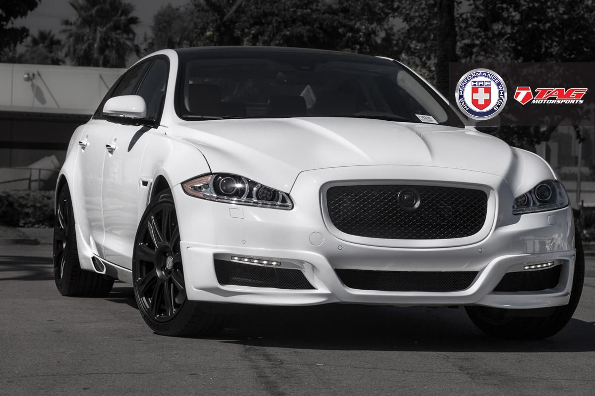 12' Jaguar XJL on HRE P93L by TAG Motorsports in Vista CA . Click to view more photos and mod info.