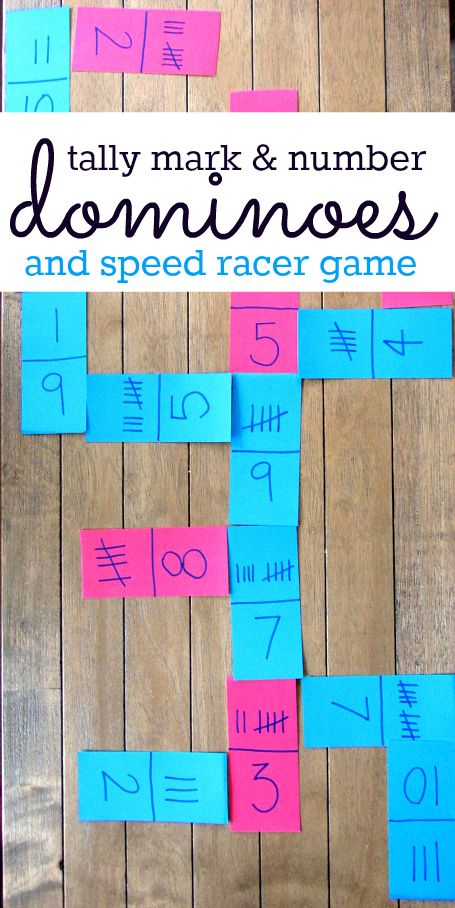 Brilliant! Tally mark math games - frugal too! Thanks Allison McDonald @Allison @ No Time For Flash Cards