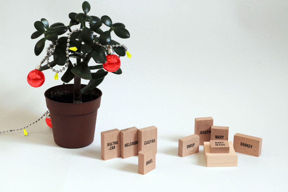 Minimal Nativity Set