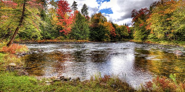 the moose river in autumn near scusa road old forge ny autumn rh pinterest com
