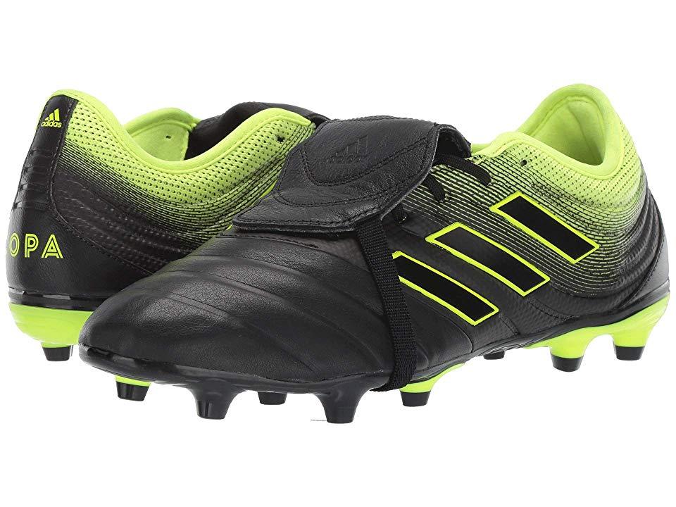 adidas Copa 19.3 FG Football Shoes Kids core black solar yellow
