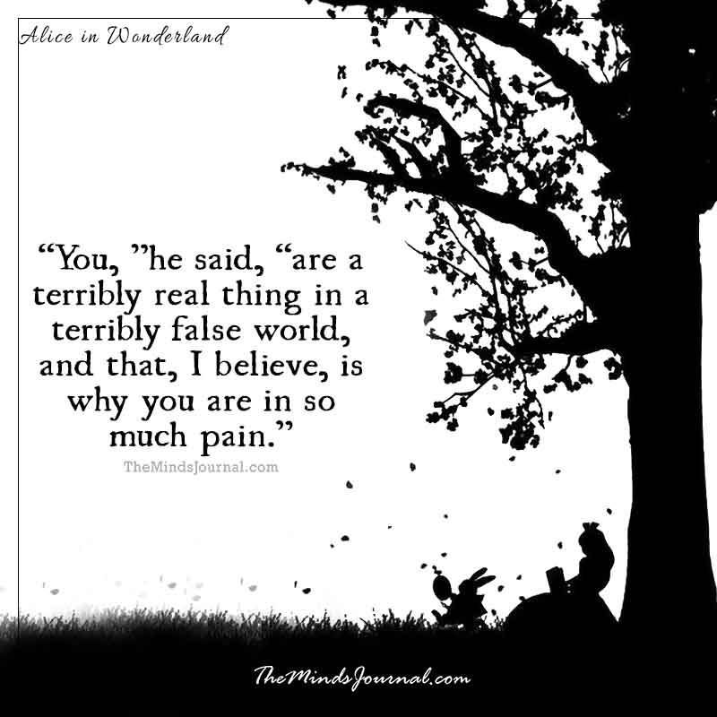 And tattoo quote alice wonderland