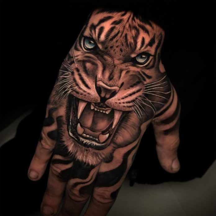 18+ Tatouage tete de tigre inspirations