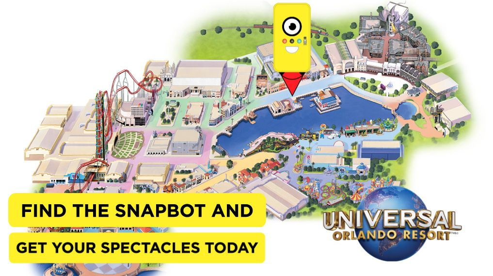 af24c39194e7f Os Snapbot chegam ao Universal Orlando Resort