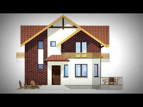Proiecte Case Mici Proiect Casa Mica Model Dragomiresti Proiectant Aquadesign House Styles House Home