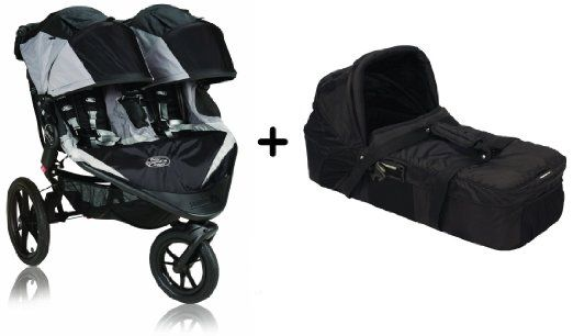 Baby Jogger 2015 Summit X3 Double Stroller Black Grey Baby Jogger
