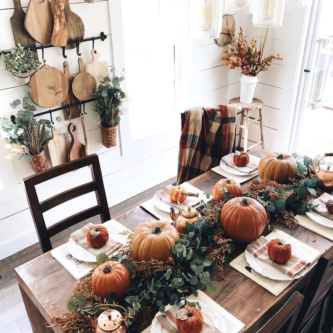 Funky Fresh Fall Tablescapes From Instagram