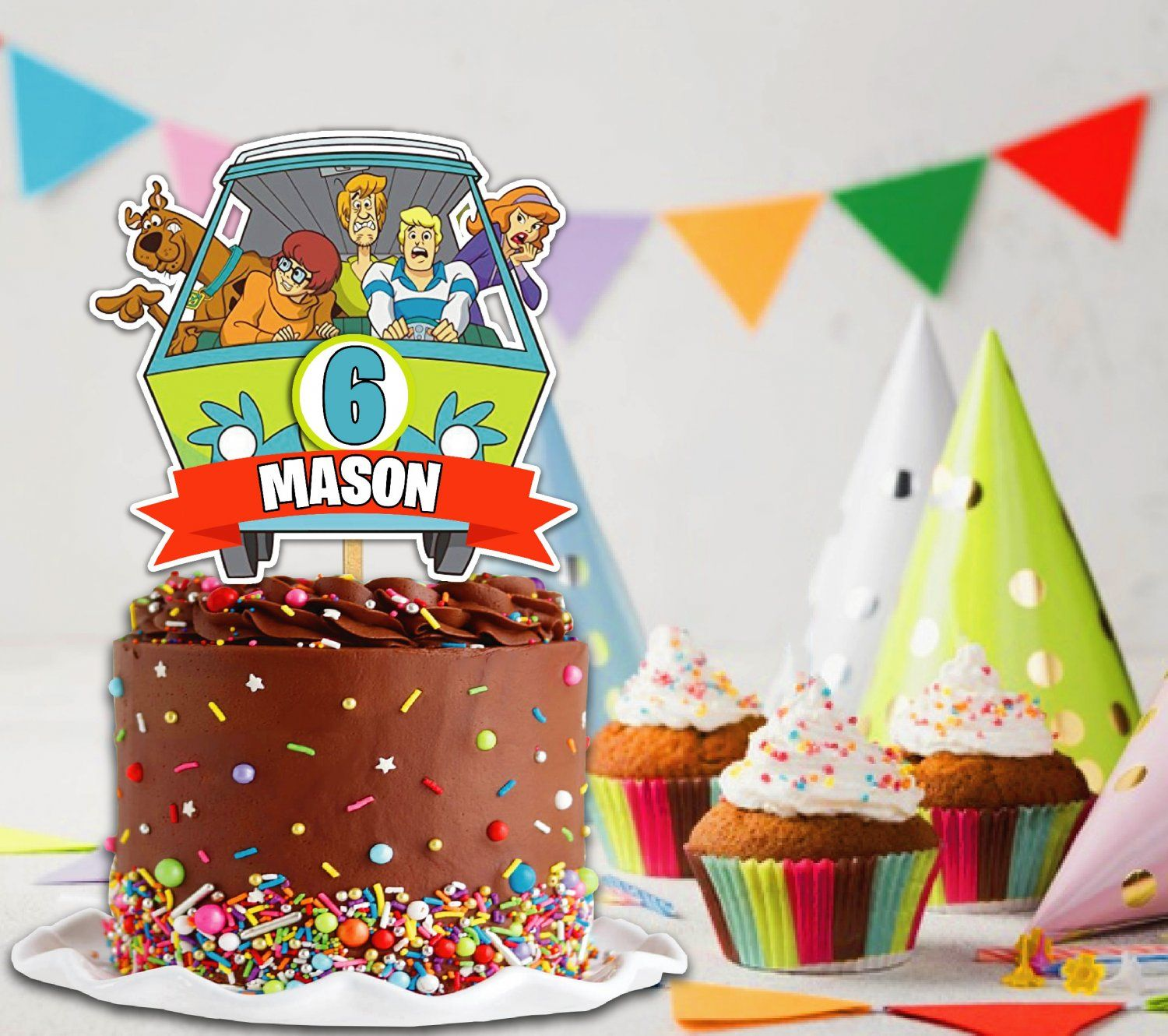 Scooby Doo Cake Topper Scooby Invitation Scooby Doo Party Cupcake Topper Digital File Roblox Cake Scooby Doo Cake Cake Toppers [ 1330 x 1500 Pixel ]