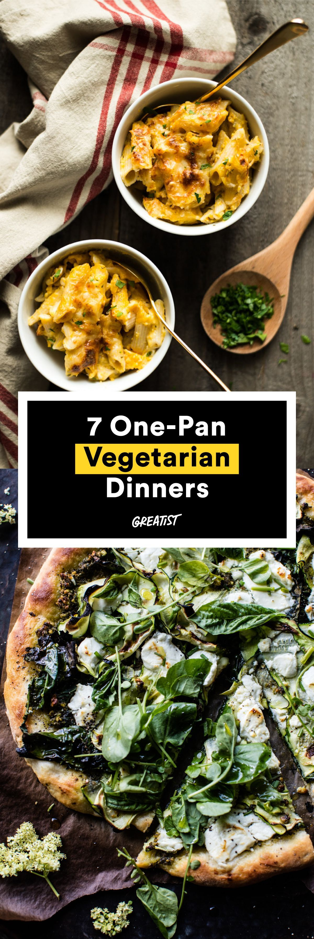 Weeknight Vegetarian Dinners You Can Bake in One Pan