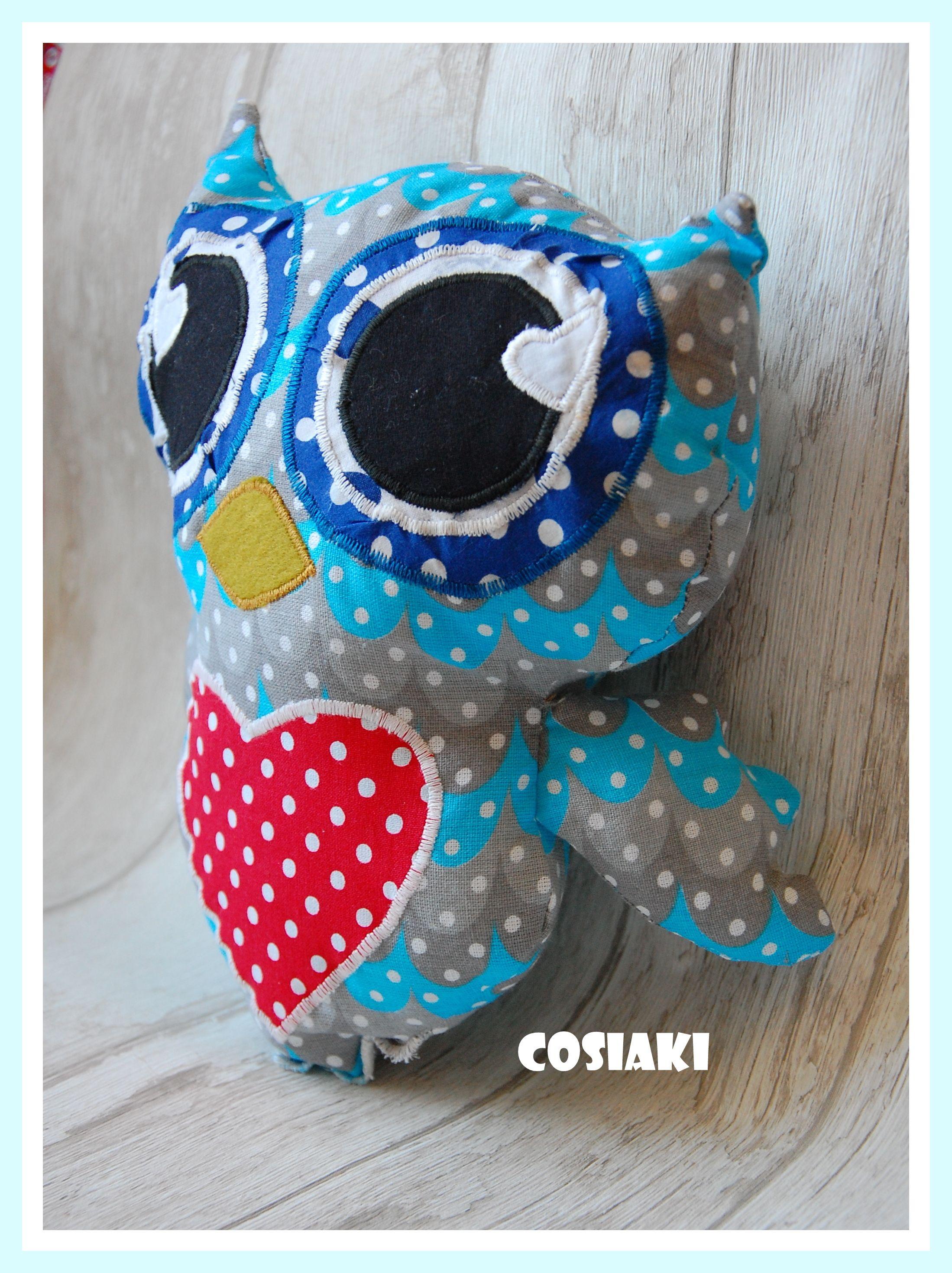 Sowa Rękodzieło Sowa Owl Poduszka Maskotka Przytulanka