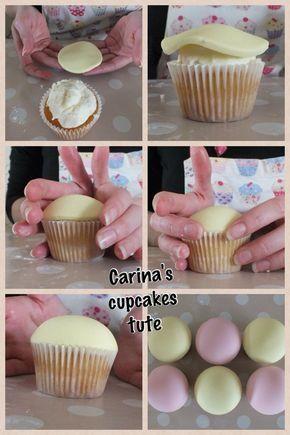 Eine einfache aber doch echt eine süße Variante cupcakes zu gestalten !