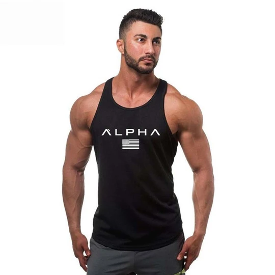 FORUU Tank Tops for Men 2020 Summer Fitness Muscle Shirts Print Sleeveless Hooded Bodybuilding Slim Fit Vest Tops