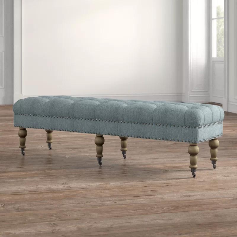 landis upholstered bench upholstered