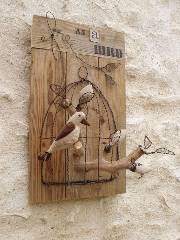 free as a bird | misturança | Pinterest | Draht, Deko vögel und ...