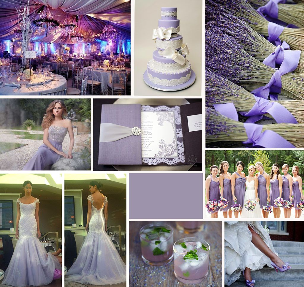 Symbolizing Femininity And Elegance Lavender Is One Of Our Favorite Wedding Colors This