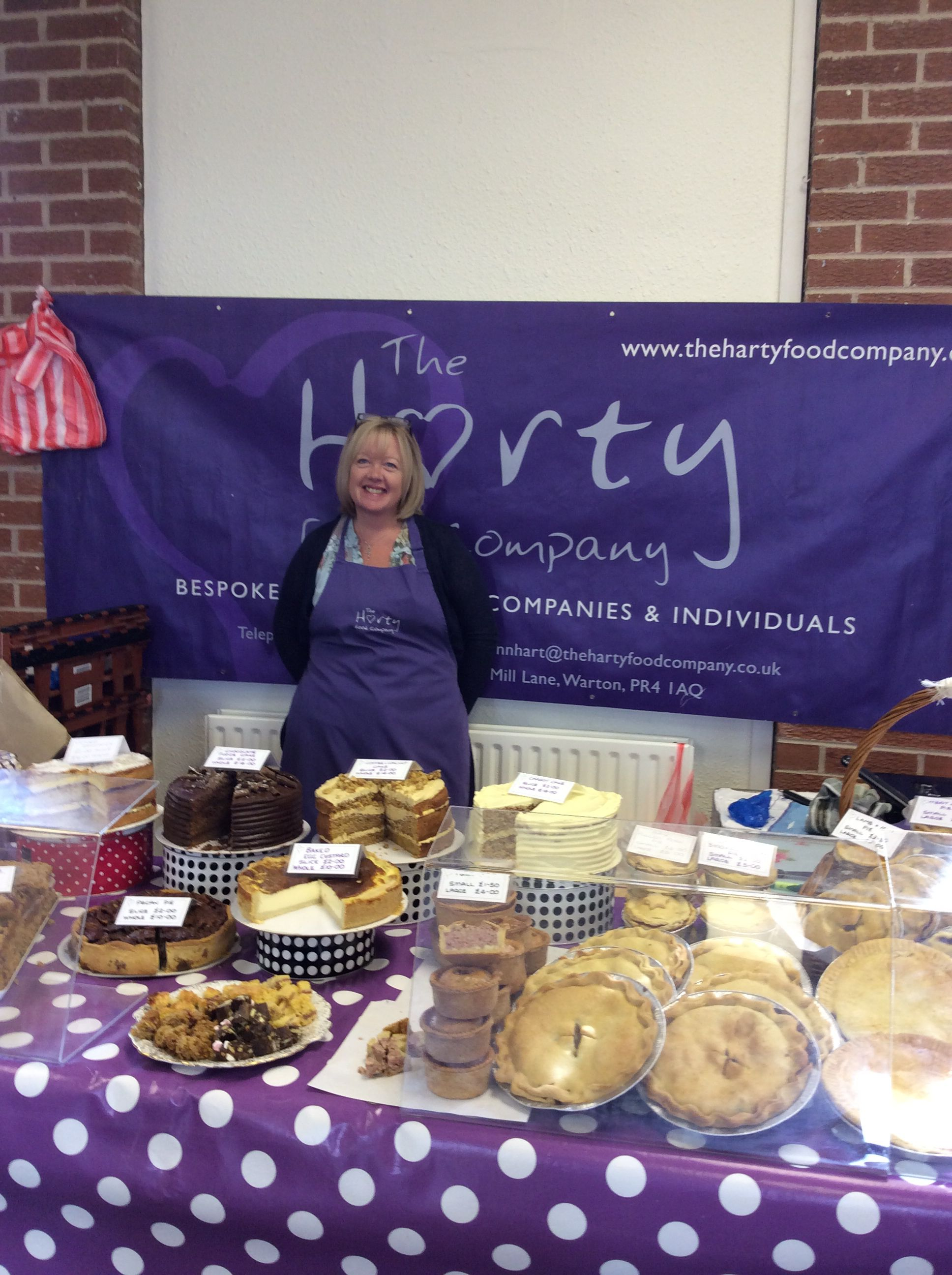 Lynne from the Harty Food Company