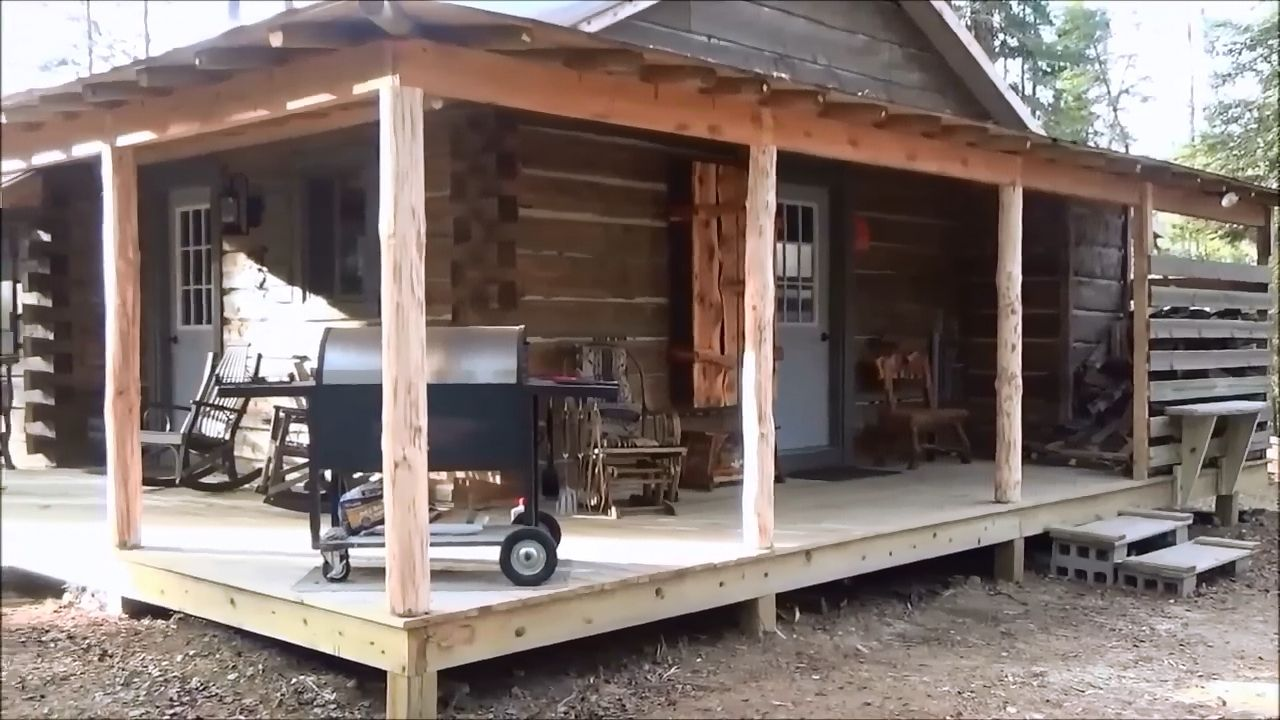 How To Build An Awesome Looking Rustic Backwoods Cabin