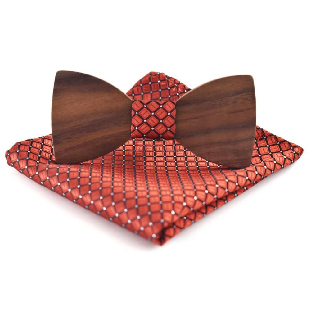 Collection Of Men/'s Bow Tie with matching Hanky and Lapel Flower