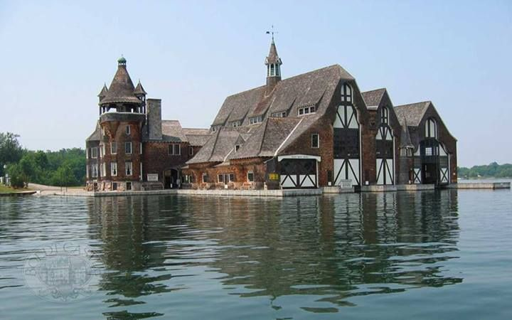 Boldt Castle Yacht House Wellesley Island Ny A Wealthy