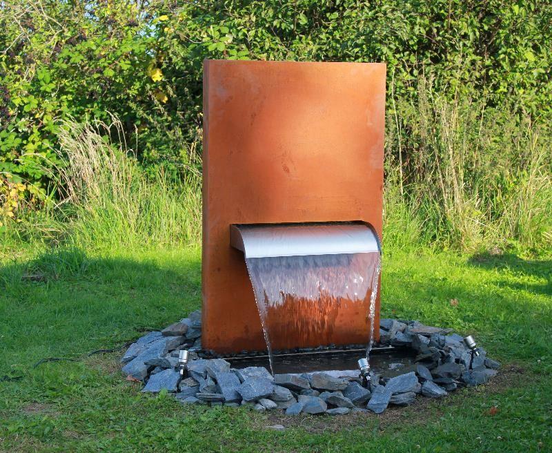 gartenbrunnen niagara | garten | pinterest, Garten und Bauen