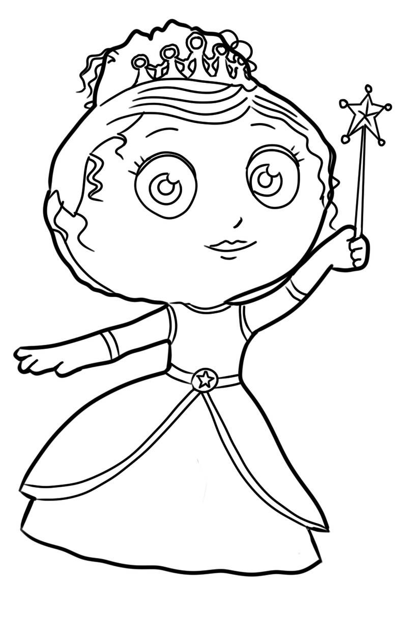 42+ Princess and the pea coloring page HD