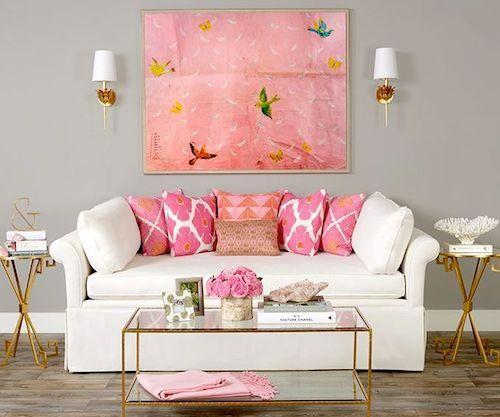 Decoración en rosa: una opción romántica para el hogar | Icon ...