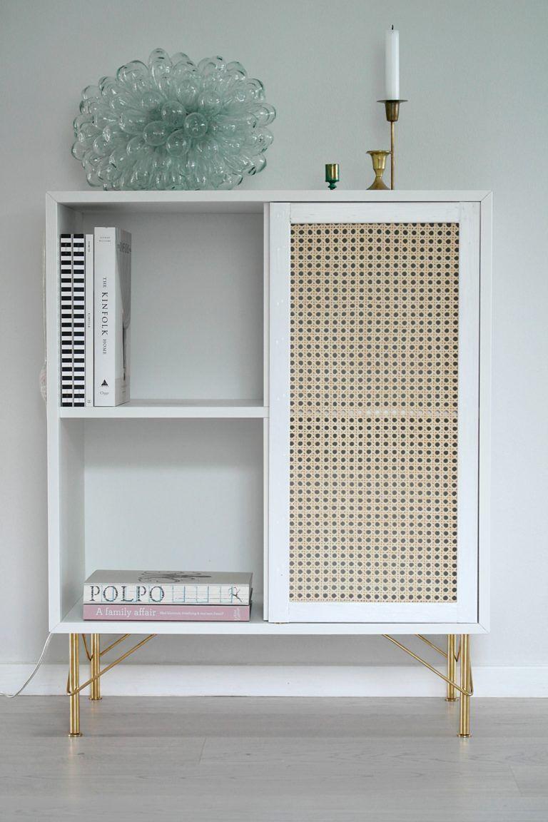 Diy Ikea Kallax hylla till ett snyggt skåp. | Möbelidéer