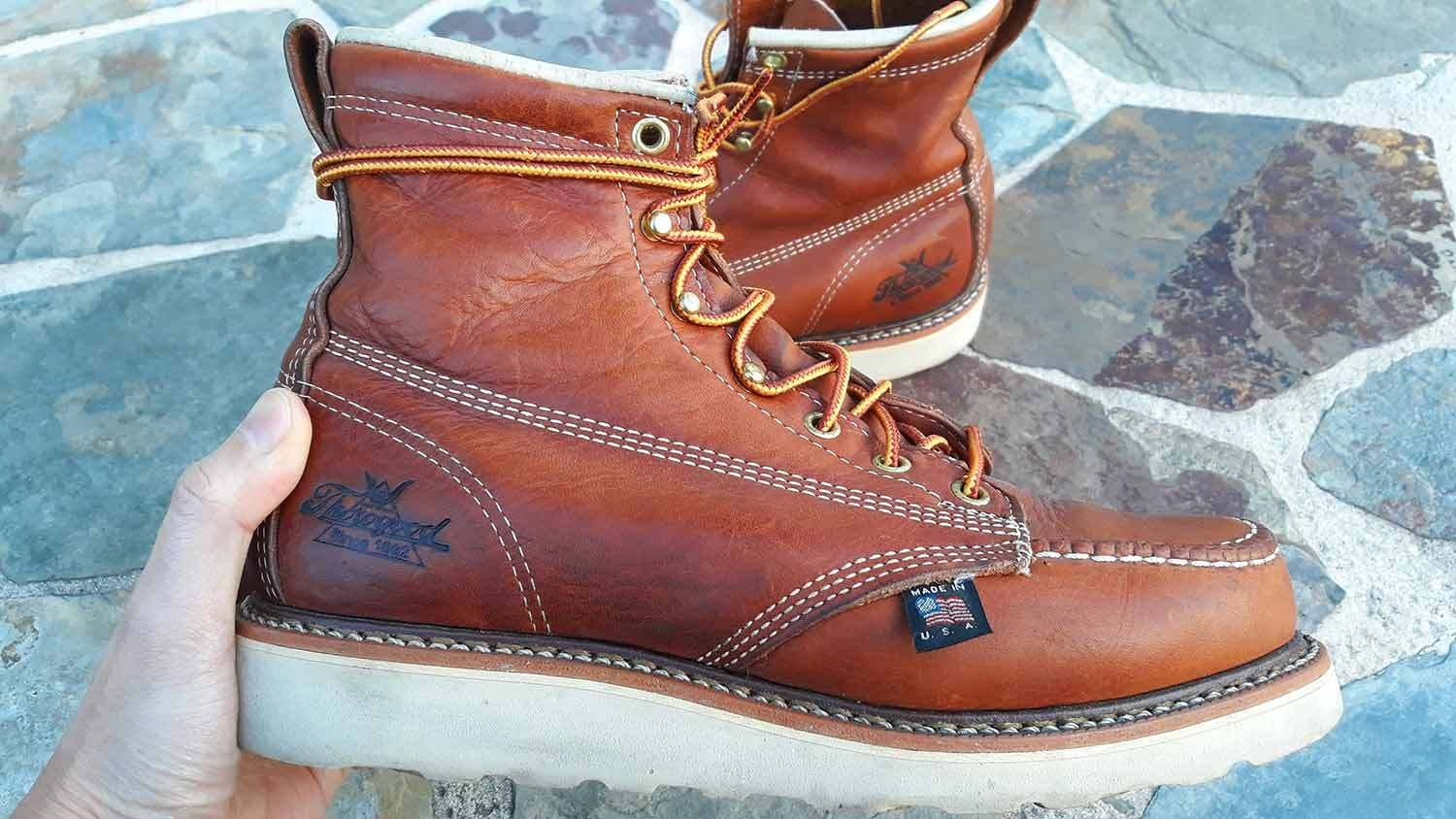Thorogood Boots Review: 4 Year Update | Moc toe boots men