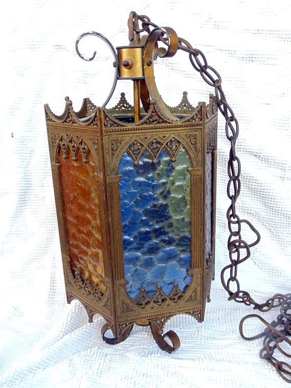 Gorgeous Multi Colored Stain Glass Panel Mid by BuccaneerTrading