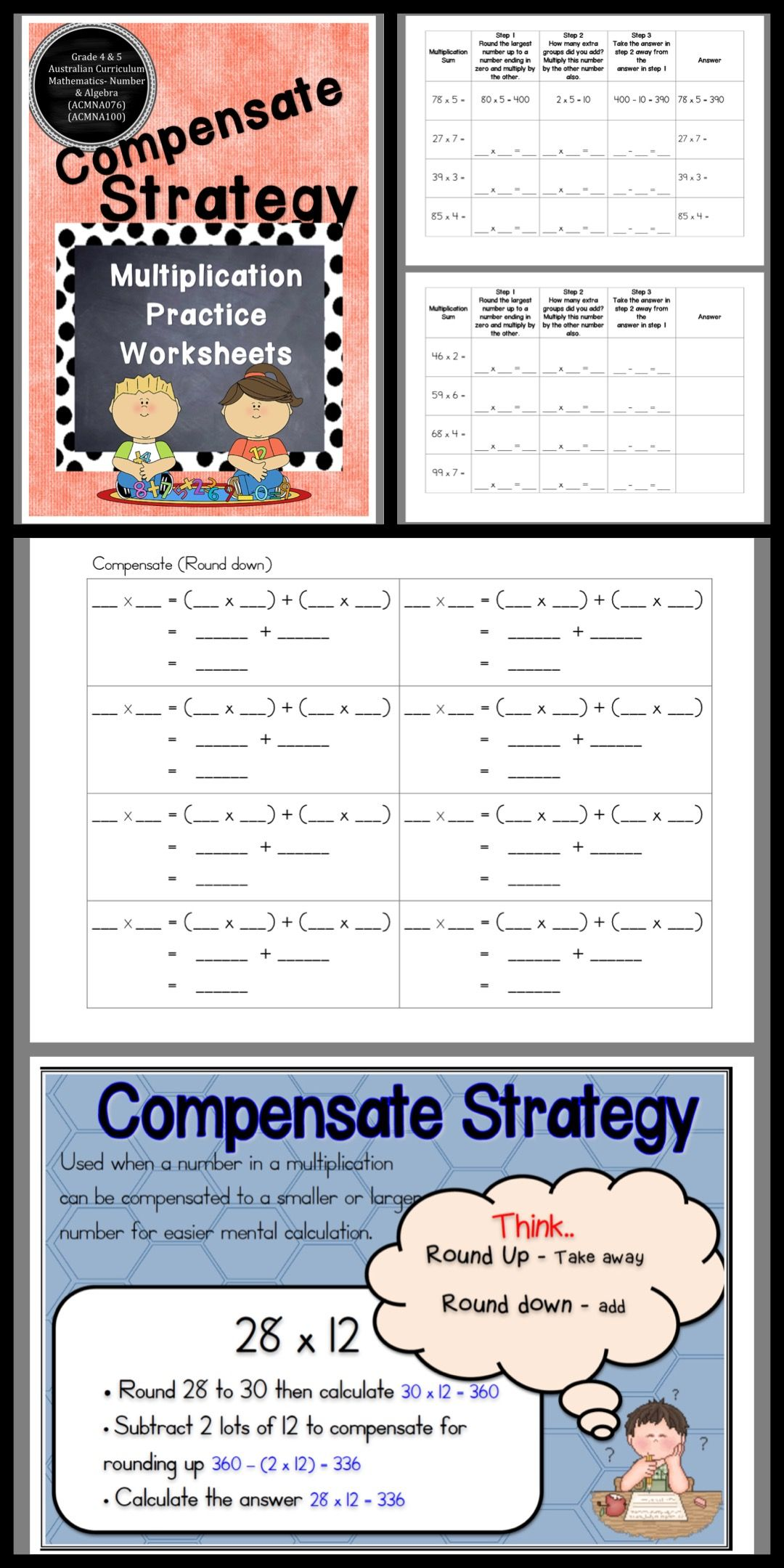 Multiplication Strategy