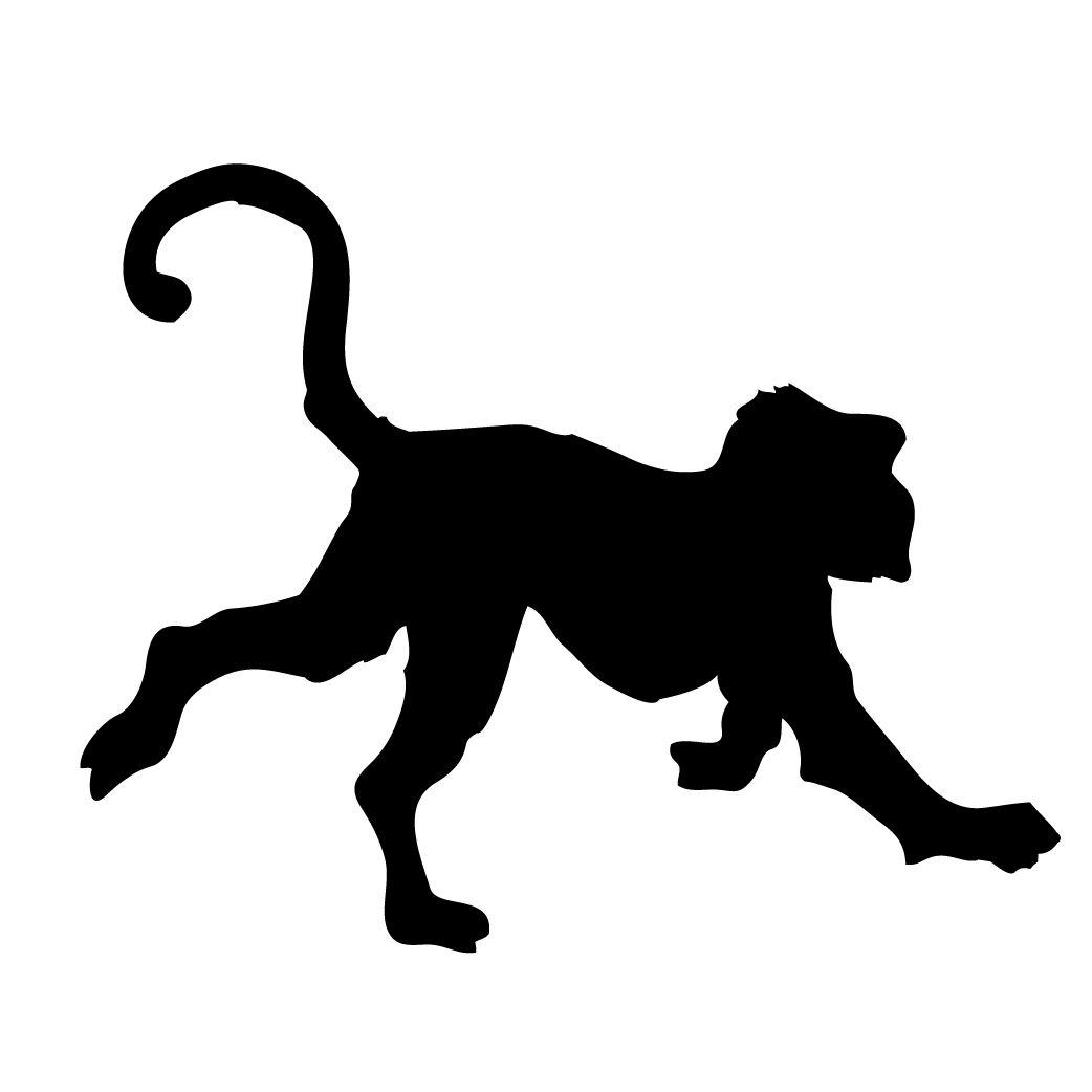 Monkey Silhouette Free Monkey Shadow Puppets Silhouette
