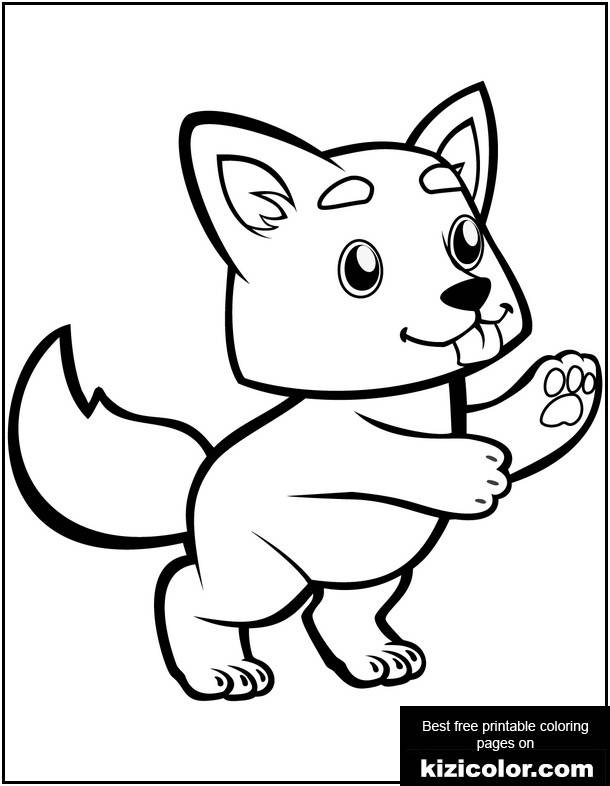 Cute Baby Wolf Coloring Page Supercoloring Pages Baby Coloring Pages Animal Coloring Pages Cat Coloring Page