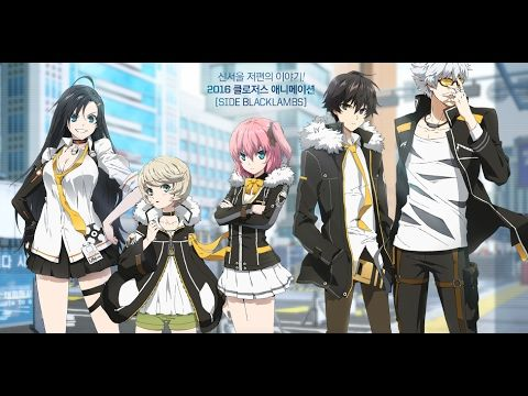 Closers Anime Side Blacklambs Episode 1 Eng Sub Youtube