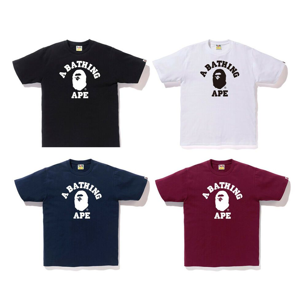 Men/'s Bape Monkey A Bathing Ape Casual T-Shirt M-XXL Couple Apparel